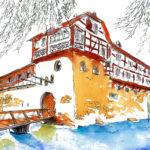 Wasserschloss Hagenwil im Kanton Thurgau