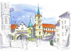 Altstadt in Biel