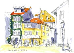 Altstadt in Winterthur