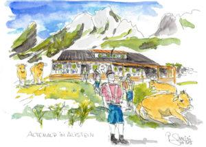 Altenalp im Alpstein